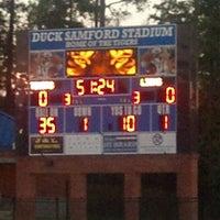 Photo taken at Duck Samford Stadium by Jackie H. on 10/17/2014