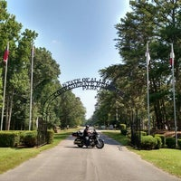 Photo taken at Confederate Memorial Park by Jackie H. on 7/18/2015