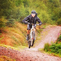 Photo taken at BikeParkWales by Justin C. on 8/22/2015