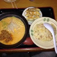 Photo taken at タンタン麺 by しぃちゃん on 3/22/2014