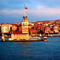 Photo taken at Maiden's Tower by Turgay on 7/16/2013