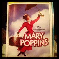 Photo taken at Disney's MARY POPPINS at the New Amsterdam Theatre by Meghan G. on 2/23/2013