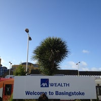 Photo taken at Basingstoke Railway Station (BSK) by Mark M. on 4/18/2013