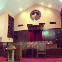 Photo taken at Ebenezer Baptist Church by Joe M. on 1/27/2013