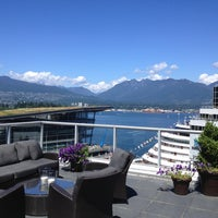 Photo taken at The Fairmont Waterfront by Brad C. on 7/27/2013