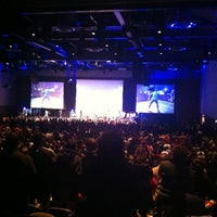 Photo taken at New Life Covenant Church @ UIC Forum by Sean on 10/28/2012