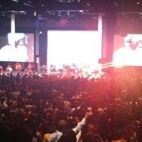 Photo taken at New Life Covenant Church @ UIC Forum by Sean on 11/25/2012