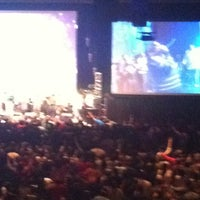 Photo taken at New Life Covenant Church @ UIC Forum by Sean on 12/30/2012