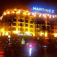 Photo taken at Grand Hyatt Cannes Hôtel Martinez by Slava on 5/22/2013