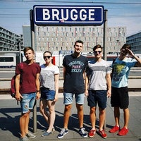 Photo taken at Trein Brugge > Brussel by Ваня Х. on 8/27/2016