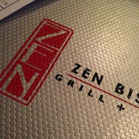Photo taken at Zen Bistro Grill + Sushi by Michael on 1/5/2013