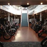 Photo taken at Seacoast Harley-Davidson by Nicole on 10/7/2012