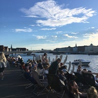 Photo taken at Copenhagen Street Food by Alice T. on 7/6/2017