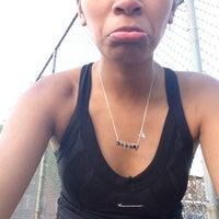 Photo taken at Columbus Avenue Tennis Courts by Kibbee on 5/11/2014
