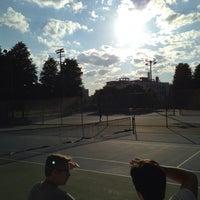 Photo taken at Columbus Avenue Tennis Courts by Kibbee on 6/19/2013