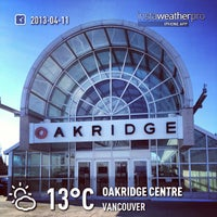 Photo taken at Oakridge Centre by Vincent N. on 4/12/2013