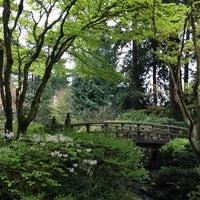 Photo taken at Portland Japanese Garden by Angela L. on 4/9/2013