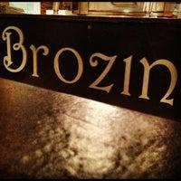 Photo taken at Brozinni Pizzeria by clayton m. on 10/11/2012