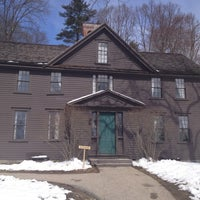 Photo taken at Louisa May Alcott's Orchard House by Janine F. on 3/22/2013