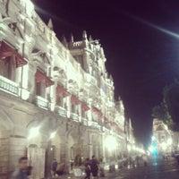 Photo taken at Los Portales de Puebla by Alexandra Pauling on 4/1/2013