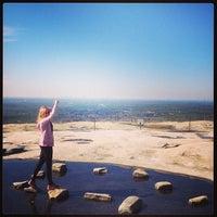 Photo taken at Stone Mountain Summit by Nikki Lee E. on 2/14/2013