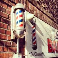 Photo taken at Clinton Street Barbershop by Luiz Eduardo G. on 12/9/2012