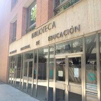 Photo taken at Biblioteca Central de la UNED by Juan Carlos on 10/4/2012