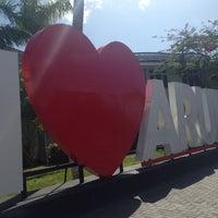 "Photo taken at ""I Love Aruba"" Sign by Kristi V. on 7/30/2014"