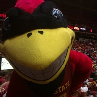 Photo taken at James H. Hilton Coliseum by Ben Z. on 1/24/2013
