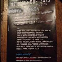 Photo taken at Piccolo Teatro degli Instabili by Antonio C. on 12/17/2013