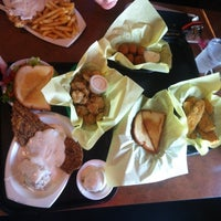Photo taken at Good Luck Grill by Ana V. on 6/1/2014