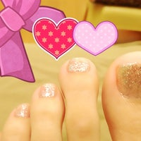 Photo taken at Nail.a.holics by Anne on 11/11/2012