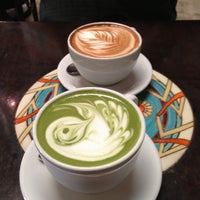 Photo taken at Urth Caffé by Rosana on 4/19/2013