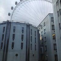 Photo taken at Premier Inn London Waterloo by John F. on 4/30/2013