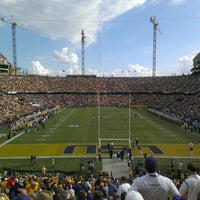 Photo taken at Tiger Stadium by NewOrleans D. on 10/12/2013