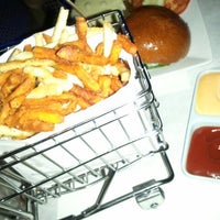 Photo taken at Delux Burger by Cup C. on 9/20/2012