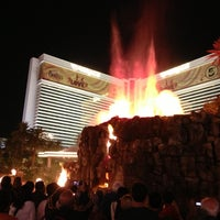 Photo taken at The Mirage Hotel & Casino by Troy K. on 10/22/2012