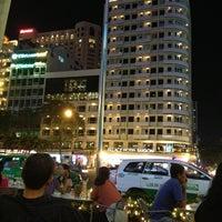 Photo taken at Cafe Central Nguyen Hue by Alisa E. on 1/12/2013