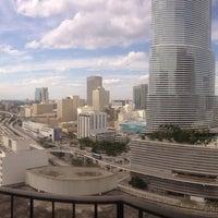 Photo taken at Hyatt Regency Miami by Jeff C. on 3/2/2013