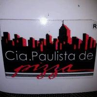 Photo taken at Cia. Paulista de Pizza by João Carlos M. on 2/2/2013