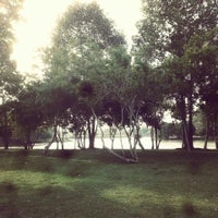 Photo taken at Somdet Phra Si Nakarin 95 Park by Rattachai W. on 1/17/2014