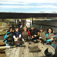 Photo taken at Official Paintball by Krystal S. on 2/10/2013