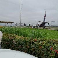 Photo taken at Benin Airport (BNI) by Charles E. on 6/9/2014