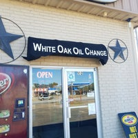 Photo taken at White Oak Oil Change by Jeff on 10/24/2017