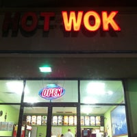 Photo taken at Hot Wok by Kate A. on 1/10/2013