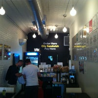 Photo taken at City Sandwich by Ludgard J. on 7/15/2013