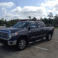 Photo Taken At Gullo Toyota Of Conroe By Brian R. On 7/30/
