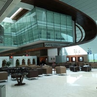Photo taken at Emirates Business Class Lounge by Redha A. on 6/26/2013