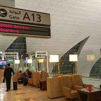 Photo taken at Gate A13 by Redha A. on 9/30/2015