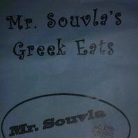 """Photo taken at Mr. Souvla's Greek Eats by Matthew """"M@tch"""" R. on 6/8/2013"""